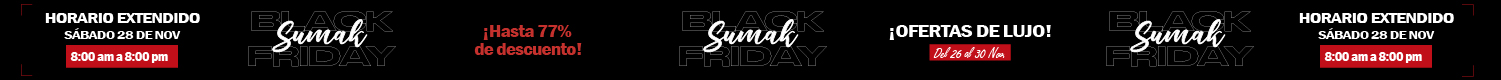 SUMAK Black Friday